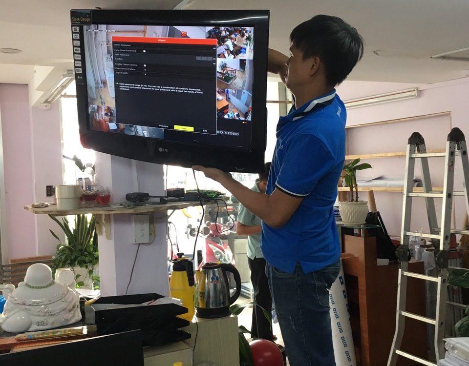 Lắp đặt hệ thống CCTV - Công Ty Cổ Phẩn Phát Triển BĐS Sài Gòn